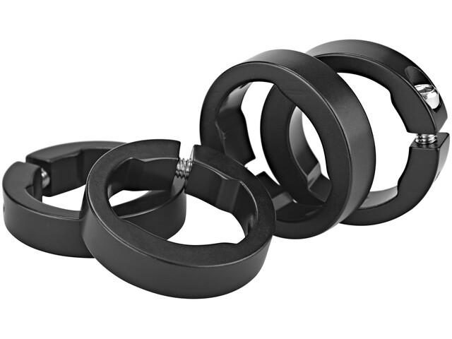 Sixpack Ersatzklemmringe Aluminium schwarz